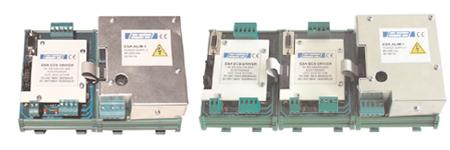 Konverter von EIA-RS-232/EIA-RS-422 Schnittstellen auf ECS-Schnittstelle E7081